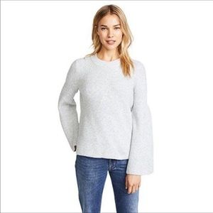 Madewell Bell Sleeve Ribbed Pullover Sweater XL
